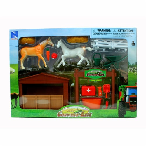 Country Life Horse Farming Playset Perspective: back