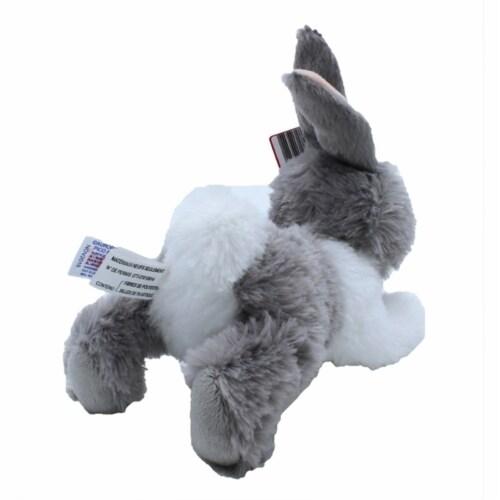 "Aurora Wold Plush Mini Flopsie Baby Bunny Grey 8"" Perspective: back"
