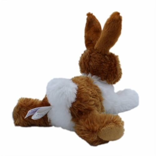 "Aurora World Plush Mini Flopsie Baby Bunny Brown 8"" Perspective: back"