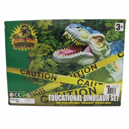 Extinct World Dinosaur Playset 4 Pack, Style C Perspective: back