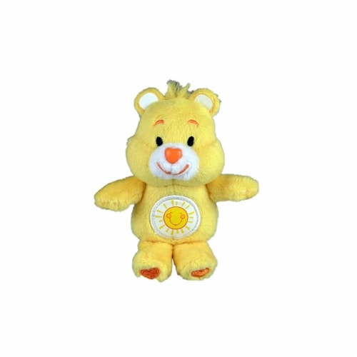 Worlds Smallest Care Bears, Yellow Funshine Bear Perspective: back