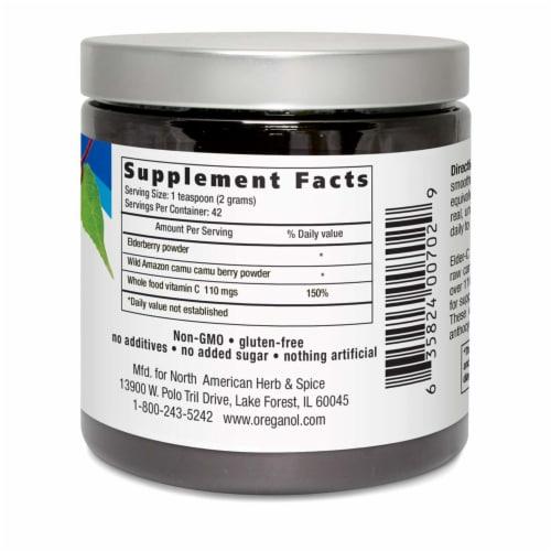North American Herb & Spice Elder-C Powder, 3 Ounces Perspective: back