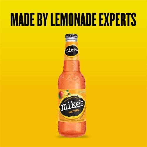 Mike's Hard Mango Lemonade Perspective: back