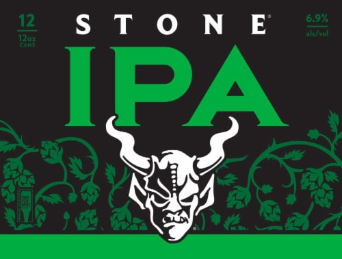 Stone The Iconic West Coast Style IPA Perspective: back