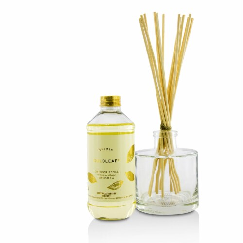 Thymes Aromatic Diffuser  Goldleaf 230ml/7.75oz Perspective: back