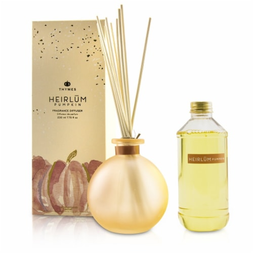 Thymes Reed Diffuser  Heirlum Pumpkin 230ml/7.75oz Perspective: back