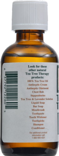 Tea Tree Therapy Water Soluble Tea Tree Oil Antiseptic Solution Perspective: back