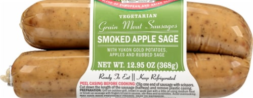 Field Roast Smoked Apple & Sage Plant-Based Sausages Perspective: back