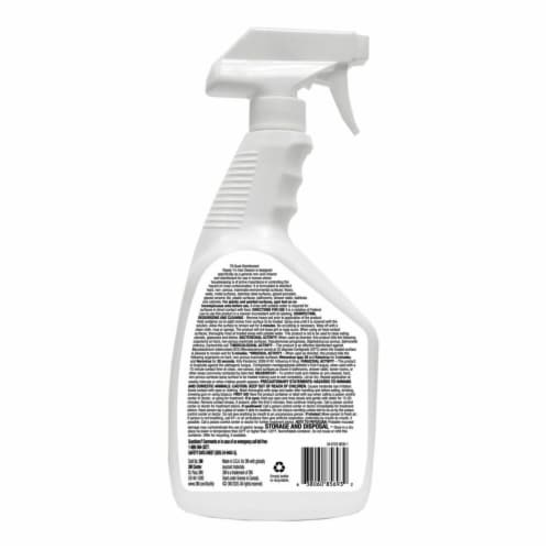 3M Disinfectant Ready To Use Cleaner Perspective: back
