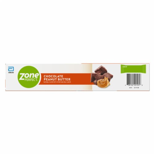 ZonePerfect Chocolate Peanut Butter Nutrition Bars Perspective: back