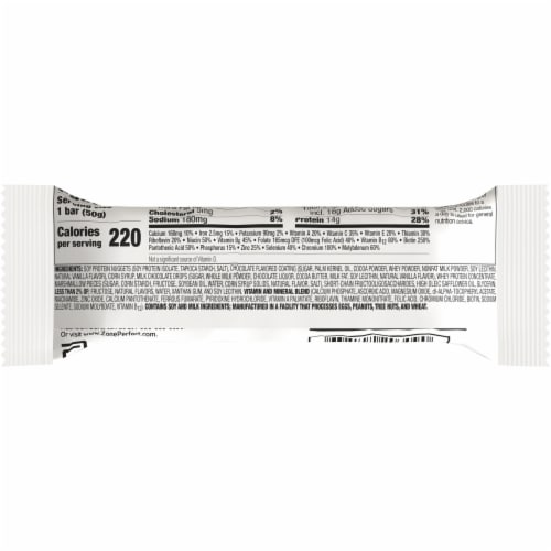 ZonePerfect Fudge Graham Bar Protein Bar Perspective: back