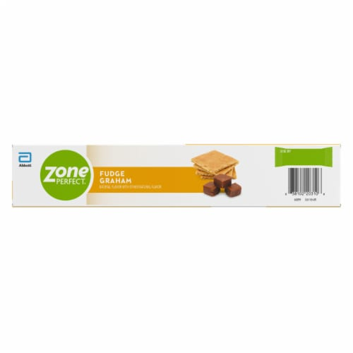 ZonePerfect Fudge Graham Nutrition Bars Perspective: back