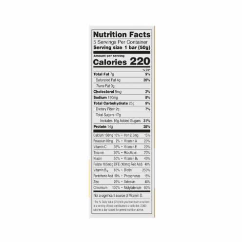 ZonePerfect Fudge Graham Bars Protein Bars Perspective: back