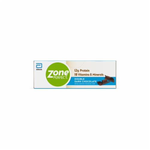 ZonePerfect Double Dark Chocolate Nutrition Bars Perspective: back