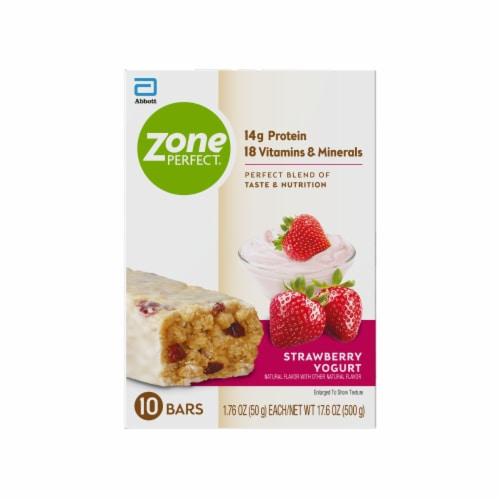 ZonePerfect® Strawberry Yogurt Nutrition Bars Perspective: back