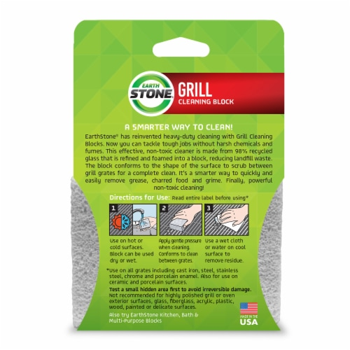 GrillStone Grill Cleaning Block Perspective: back