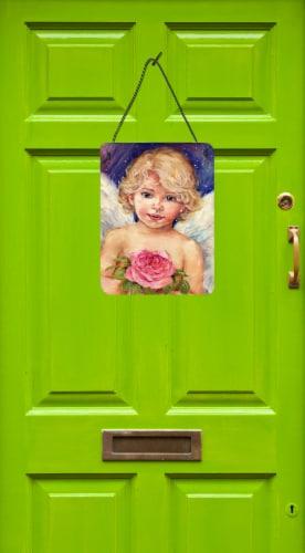 Little Angel by Debbie Cook Wall or Door Hanging Prints Perspective: back