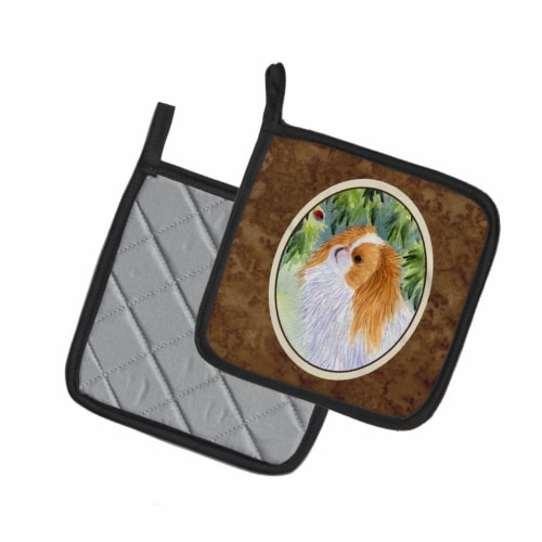 Carolines Treasures  SS8260PTHD Japanese Chin Pair of Pot Holders Perspective: back