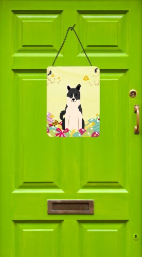 Easter Eggs Russo-European Laika Spitz Wall or Door Hanging Prints Perspective: back