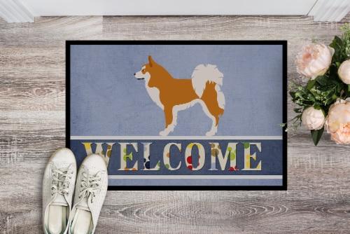 Carolines Treasures  BB8340JMAT Icelandic Sheepdog Indoor or Outdoor Mat 24x36 Perspective: back