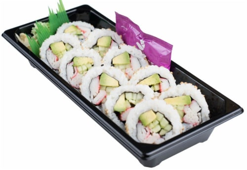 Snowfox California Roll (NOT AVAILABLE BEFORE 11:00 AM DAILY) Perspective: back