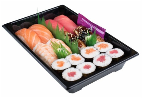 Snowfox Sushi Combo (NOT AVAILABLE BEFORE 11:00 AM DAILY) Perspective: back