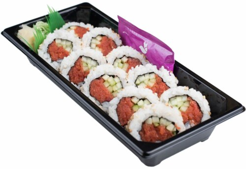 Snowfox Spicy Tuna Salmon Shrimp Roll (NOT AVAILABLE BEFORE 11:00 AM DAILY) Perspective: back