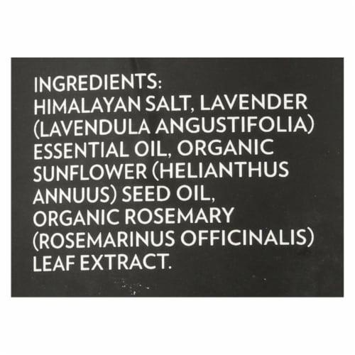 Evolution Salt Co. Lavender Himalayan Crystal Bath Salt Perspective: back