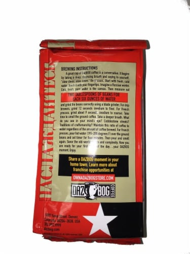 Dazbog Coffee Svoboda Blend Medium Ground Coffee Perspective: back