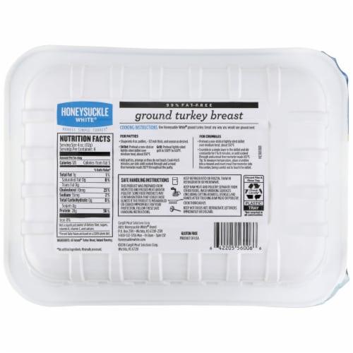 Honeysuckle White Ground Turkey Breast Perspective: back
