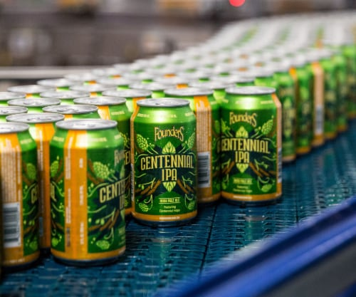 Founders Brewing Centennial IPA Perspective: back