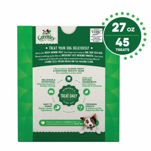 Greenies Original Petite Dog Dental Treats Perspective: back