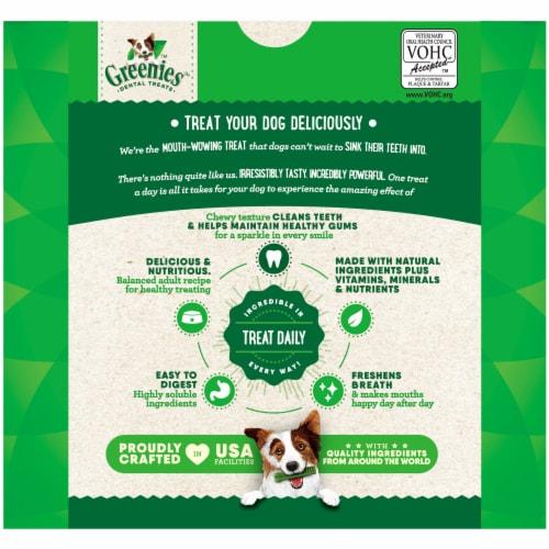 Greenies™ Original Petite Dog Dental Treats Value Pack Perspective: back