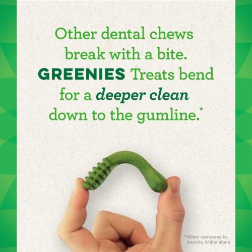 Greenies™ Value Pack Original Regular Dog Dental Treats Perspective: back