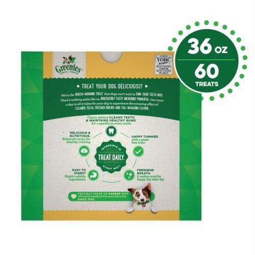 Greenies Grain-Free Petite Dog Dental Treats Value Pack Perspective: back
