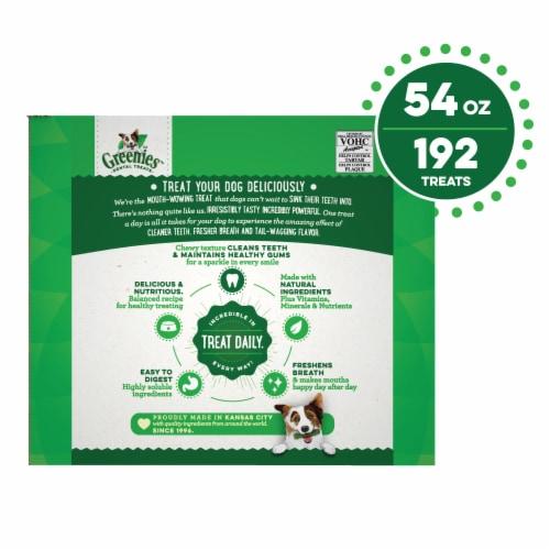 Greenies Original Teenie Dental Dog Treats Super Pack Perspective: back