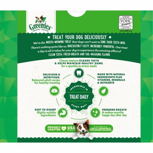 Greenies Original Petite Dental Dog Treats Super Pack Perspective: back