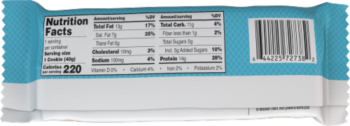 Power Crunch® French Vanilla Creme Protein Energy Bar Perspective: back