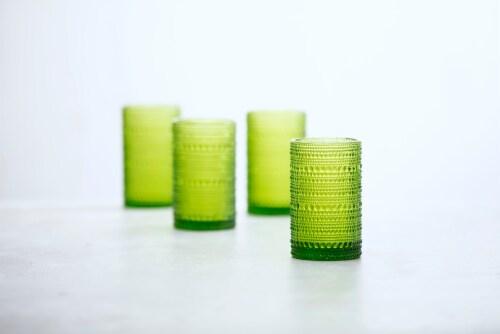 FORTESSA D&V Jupiter Double Old-Fashioned Beverage Glasses - 6 Pack - Fern Perspective: back