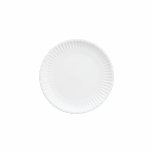 Fortessa Street Eats Paper Plate Style Melamine Plate Perspective: back