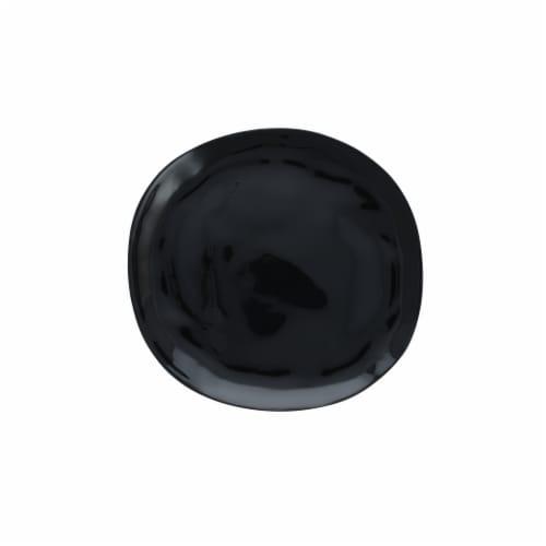 FORTESSA Sandia Obsidian Dinner Plate Perspective: back
