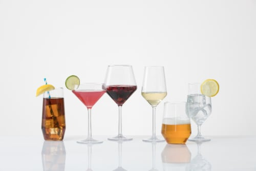 FORTESSA Sole All Purpose Drinking Glasses - 6 Pack Perspective: back