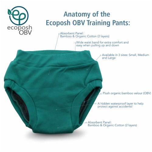 Ecoposh OBV Training Pants | Saffron (Yellow) Small 1T/2T Perspective: back
