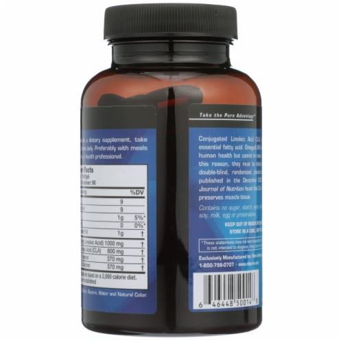 Pure Advantage CLA Conjugated Linoleic Acid Softgels 1000mg Perspective: back