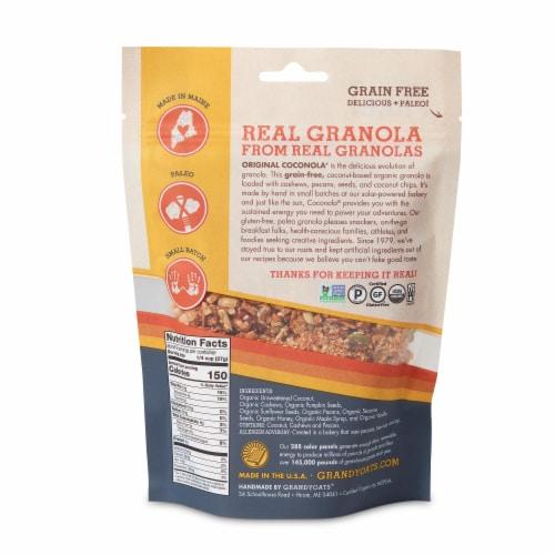 GrandyOats Original Coconola Coconut Granola Perspective: back