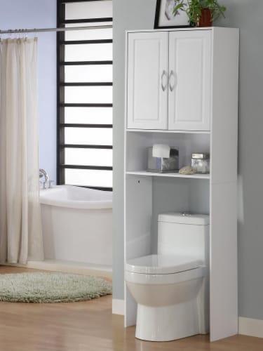 Double Door Space saver Perspective: back