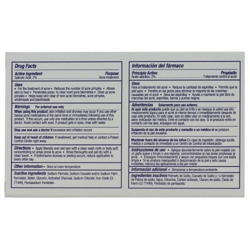 Aspexia Charcoal Acne Bar Soap Perspective: back