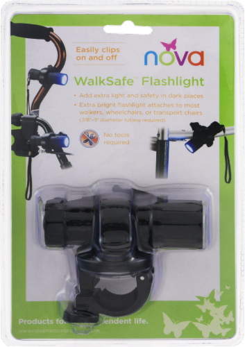 Nova WalkSafe Flashlight Perspective: back