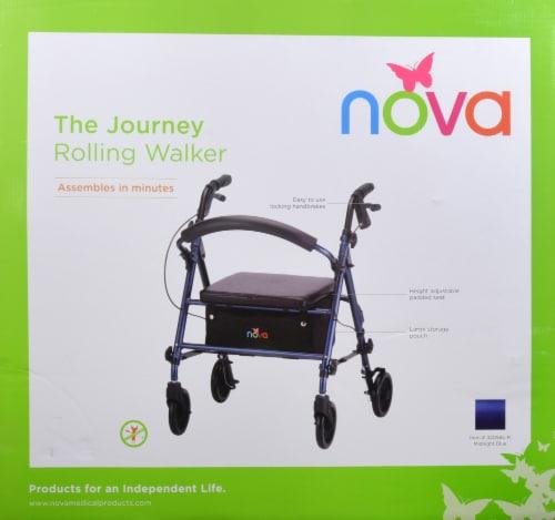 Nova Journey Rolling Walker - Blue Perspective: back