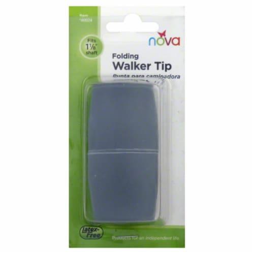 "Nova Walker Tips 1"" - Gray Perspective: back"